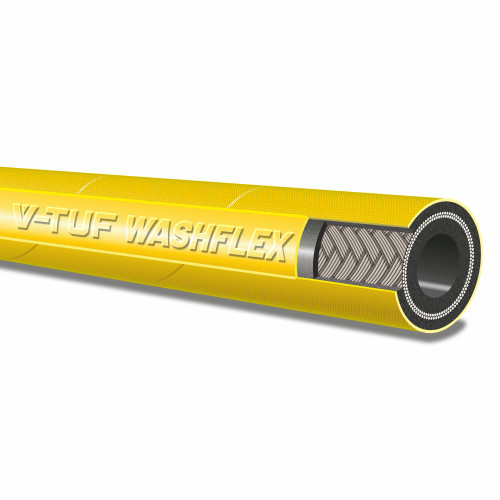"2 WIRE, 5/16"" 155°C  V-TUF YELLOW JETWASH - DN8 (Per metre)"