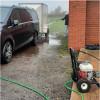DD055 Industrial 5.5HP Honda Driven Petrol Pressure Washer - 2500psi, 150Bar, 13L/min