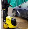 HD140HOT 240v Hot Water Professional Mobile Pressure Washer - 2000psi, 140Bar, 9L/min