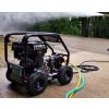 TORRENT3RGB Industrial 15HP Gearbox Driven Petrol Pressure Washer - 4000psi, 275Bar, 15L/min (Electric Key Start)