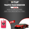 V-TUF 210L WASH & SHINE RETAINER (PINK) - NONCAUSTIC - 10X CONCENTRATED - 100% BIODEGRADABLE
