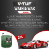 V-TUF VTC620 20 LITRE LUXURY WASH & WAX - 10X CONCENTRATED - NON-CAUSTIC - 100% BIODEGRADABLE